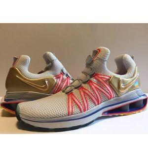 cec46ac598458b Nike Shoes - Nike Shox Gravity Olympic Gold Metal Shoes Sz 10